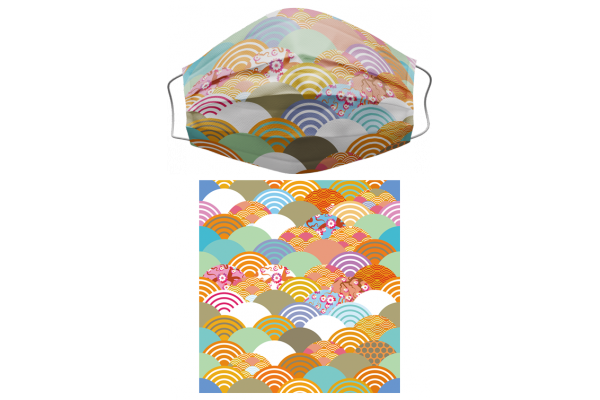 Japanese Pattern和風圖案1三層醫用成人口罩