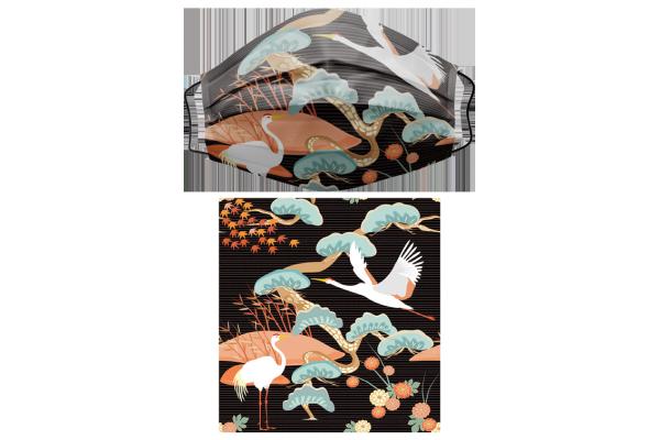 Japanese Pattern和風圖案2三層醫用成人口罩