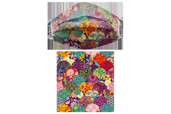 Japanese Pattern和風圖案5三層醫用中童口罩
